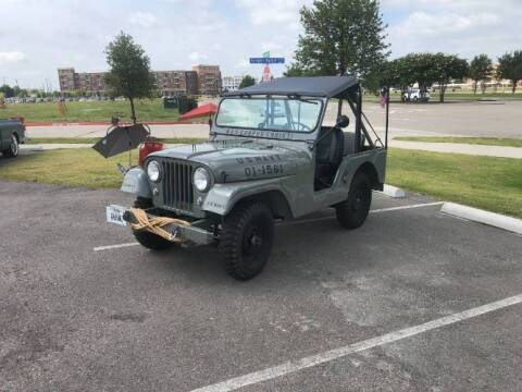 1961 Willys Jeep for sale at Classic Car Deals in Cadillac MI