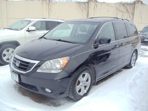 2009 Honda Odyssey for sale at Metro Motor Sales in Minneapolis MN
