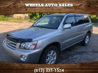 2002 Toyota Highlander for sale at Wheels Auto Sales in Bloomington IN