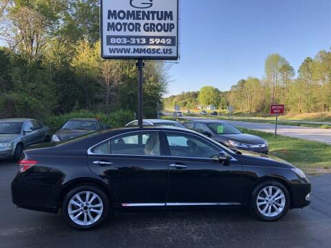 2010 Lexus ES 350 for sale at Momentum Motor Group in Lancaster SC