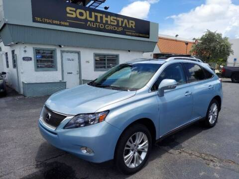 2010 Lexus RX 450h for sale at Southstar Auto Group in West Park FL