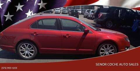 2011 Ford Fusion for sale at Senor Coche Auto Sales in Las Cruces NM