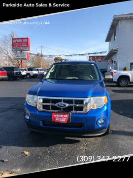 2011 Ford Escape for sale at Parkside Auto Sales & Service in Pekin IL