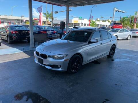 2013 BMW 3 Series for sale at American Auto Sales in Hialeah FL