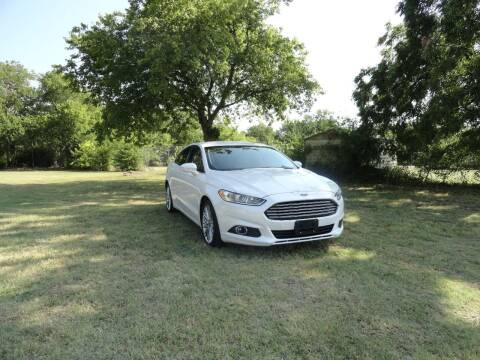 2014 Ford Fusion for sale at Vamos-Motorplex in Lewisville TX