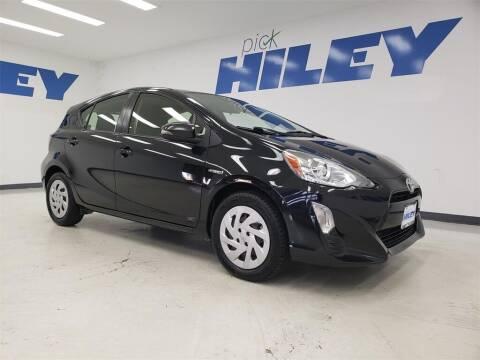2016 Toyota Prius c for sale at HILEY MAZDA VOLKSWAGEN of ARLINGTON in Arlington TX