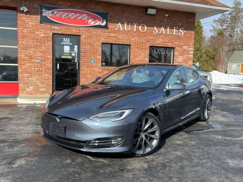 2021 Tesla Model S for sale at Elmwood D+J Auto Sales in Agawam MA