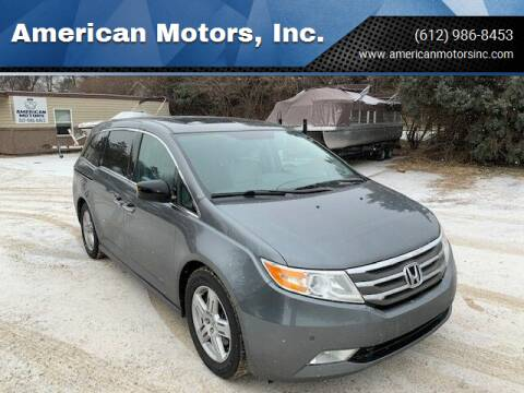 2013 Honda Odyssey for sale at American Motors, Inc. in Farmington MN