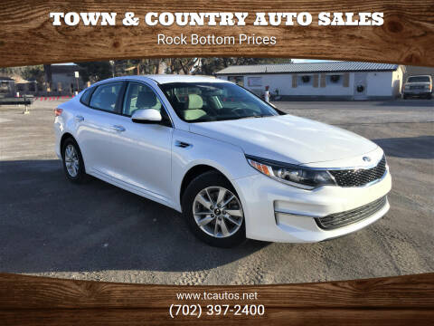 2016 Kia Optima for sale at TOWN & COUNTRY AUTO SALES in Overton NV