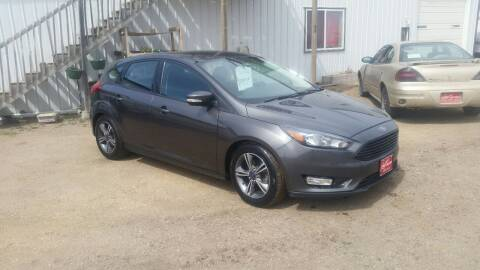 2016 Ford Focus for sale at Ron Lowman Motors Minot in Minot ND
