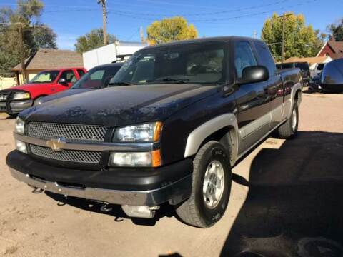 2004 Chevrolet Silverado 1500 for sale at PYRAMID MOTORS AUTO SALES in Florence CO