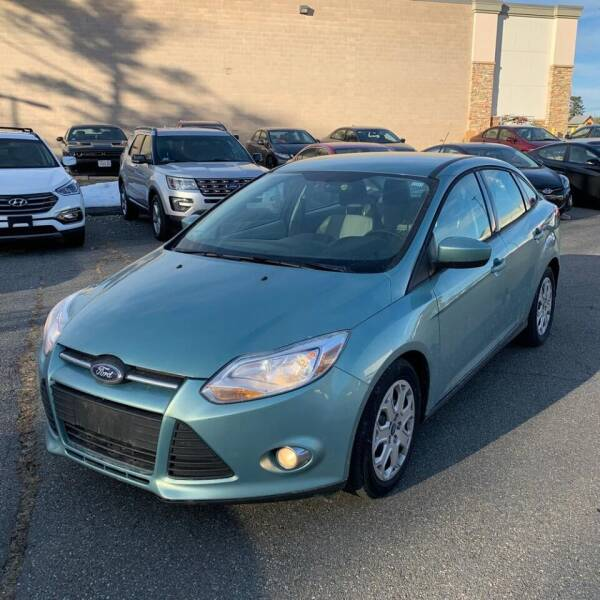 2012 Ford Focus for sale at MBM Auto Sales and Service in East Sandwich MA