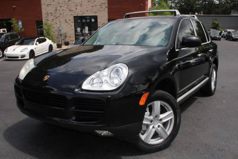 2004 Porsche Cayenne for sale at Atlanta Unique Auto Sales in Norcross GA