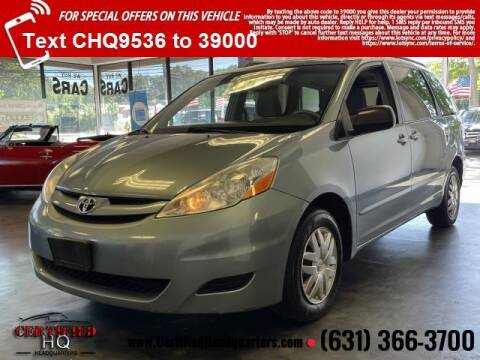 2009 Toyota Sienna for sale at CERTIFIED HEADQUARTERS in St James NY