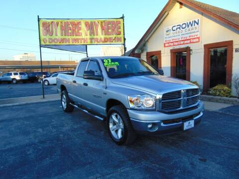 2007 Dodge Ram Pickup 1500 for sale at Crown Used Cars in Oklahoma City OK