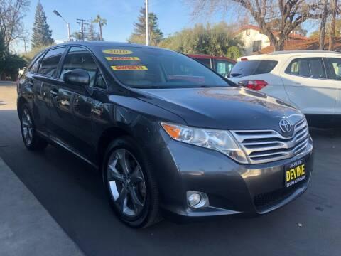 2010 Toyota Venza for sale at Devine Auto Sales in Modesto CA
