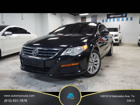 2012 Volkswagen CC for sale at Automaxx in Tampa FL