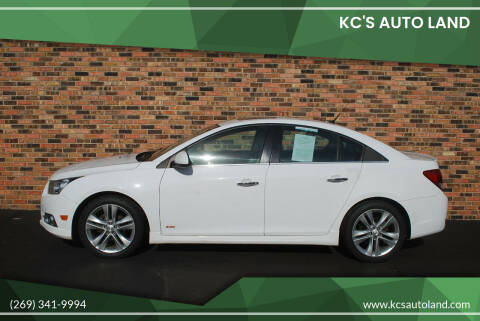 2013 Chevrolet Cruze for sale at KC'S Auto Land in Kalamazoo MI
