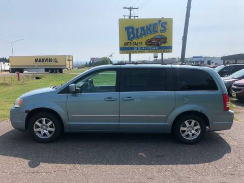 2009 Chrysler Town and Country for sale at Blake's Auto Sales in Rice Lake WI