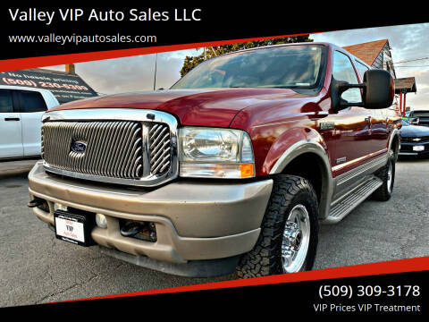 2003 Ford Excursion for sale at Valley VIP Auto Sales LLC in Spokane Valley WA