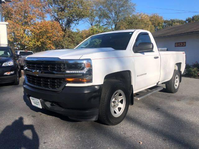 2016 Chevrolet Silverado 1500 for sale at Sports & Imports in Pasadena MD