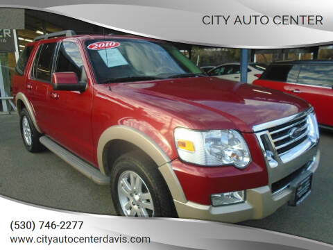 2010 Ford Explorer for sale at City Auto Center in Davis CA