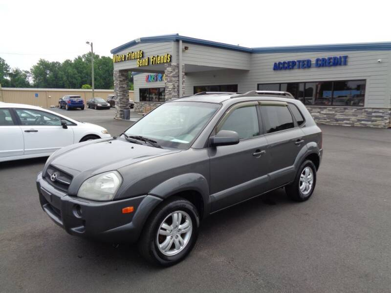 2007 Hyundai Tucson for sale at KARS R US of Spartanburg LLC in Spartanburg SC