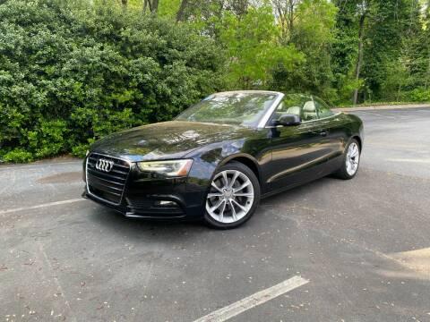 2013 Audi A5 for sale at Uniworld Auto Sales LLC. in Greensboro NC