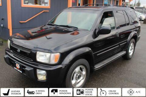 2000 Infiniti QX4 for sale at Sabeti Motors in Tacoma WA