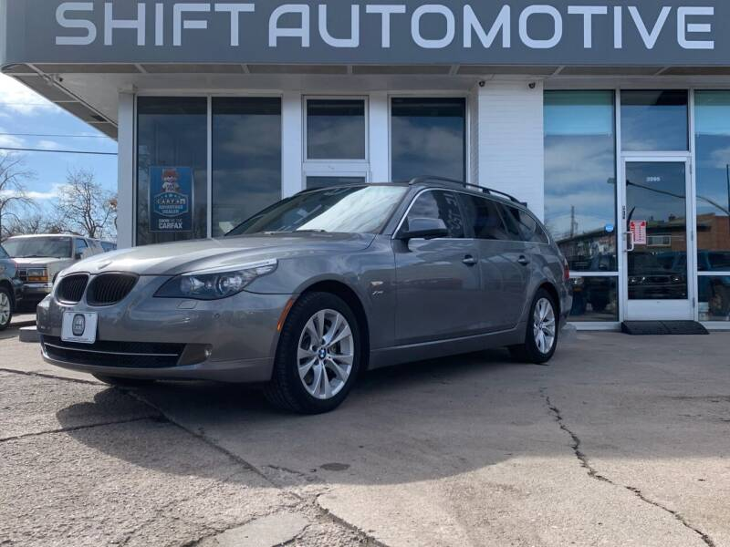 2010 BMW 5 Series for sale at Shift Automotive in Denver CO