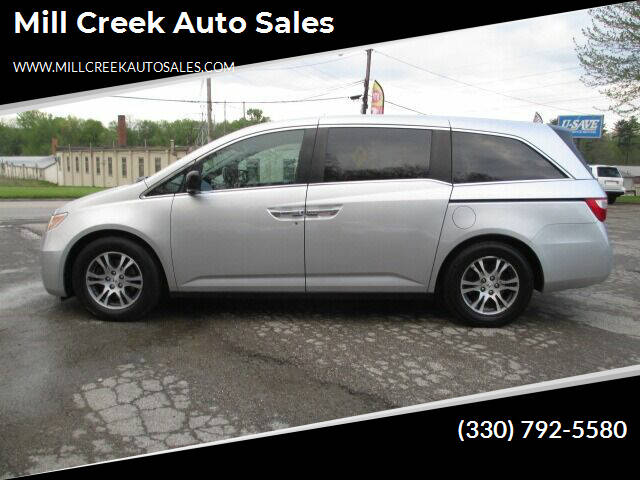 2012 Honda Odyssey for sale at Mill Creek Auto Sales in Youngstown OH