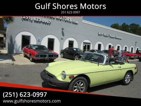 1977 MG MGB for sale at Gulf Shores Motors in Gulf Shores AL