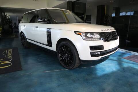 2015 Land Rover Range Rover for sale at OC Autosource in Costa Mesa CA