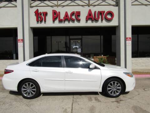 2015 Toyota Camry for sale at First Place Auto Ctr Inc in Watauga TX