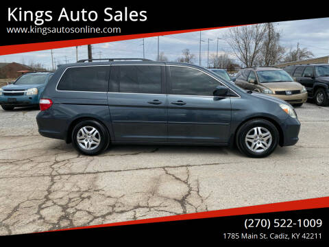 2006 Honda Odyssey for sale at Kings Auto Sales in Cadiz KY