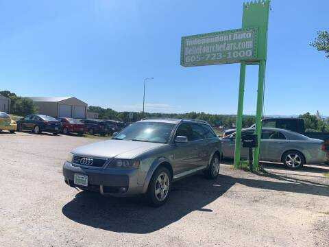 2004 Audi Allroad for sale at Independent Auto in Belle Fourche SD