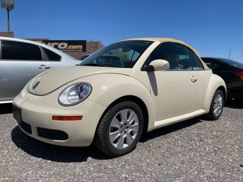 2010 Volkswagen New Beetle Convertible for sale at REVEURO in Las Vegas NV