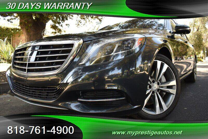 2014 Mercedes-Benz S-Class for sale at Prestige Auto Sports Inc in North Hollywood CA