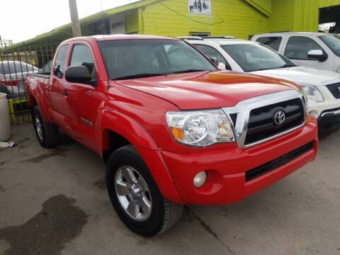 2008 Toyota Tacoma for sale at RODRIGUEZ MOTORS CO. in Houston TX
