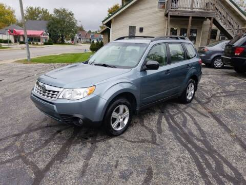2012 Subaru Forester for sale at Indiana Auto Sales Inc in Bloomington IN
