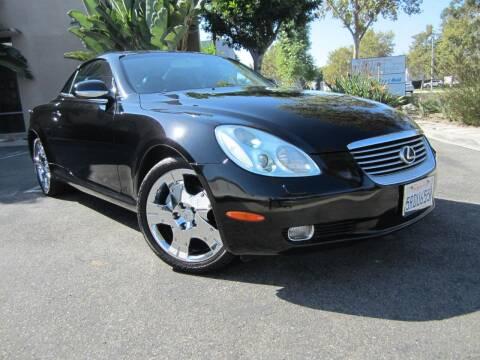 2005 Lexus SC 430 for sale at ORANGE COUNTY AUTO WHOLESALE in Irvine CA