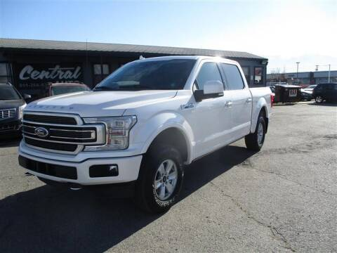 2018 Ford F-150 for sale at Central Auto in South Salt Lake UT