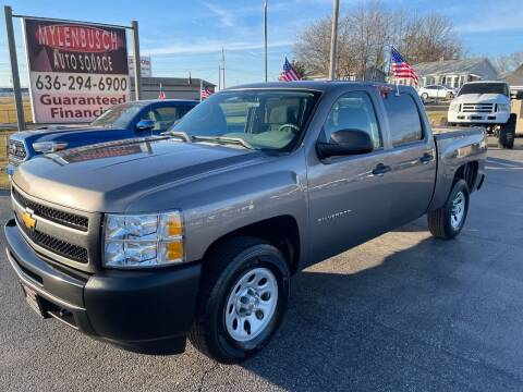2013 Chevrolet Silverado 1500 for sale at MYLENBUSCH AUTO SOURCE in O` Fallon MO