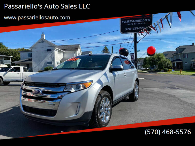 2013 Ford Edge for sale at Passariello's Auto Sales LLC in Old Forge PA