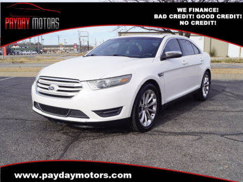 2013 Ford Taurus for sale at Payday Motors in Wichita And Topeka KS