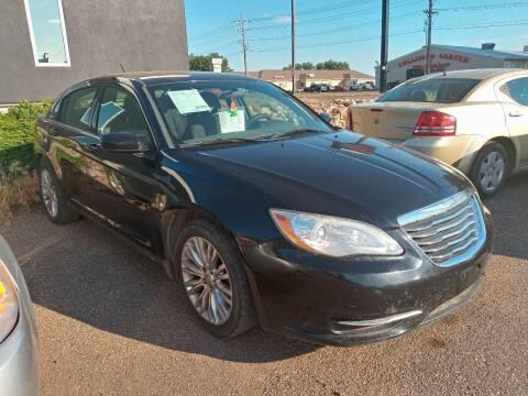 2012 Chrysler 200 for sale at L & J Motors in Mandan ND