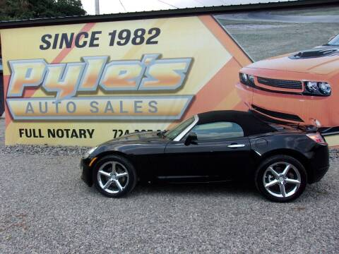 2008 Saturn SKY for sale at Pyles Auto Sales in Kittanning PA