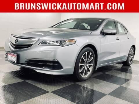 2015 Acura TLX for sale at Brunswick Auto Mart in Brunswick OH
