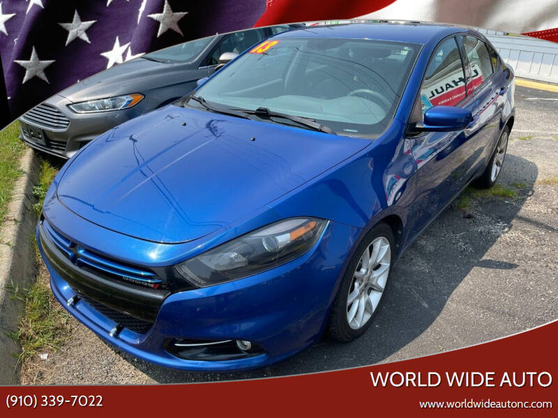 2013 Dodge Dart for sale at World Wide Auto in Fayetteville NC