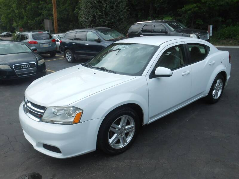 2011 Dodge Avenger for sale at AUTOS-R-US in Penn Hills PA